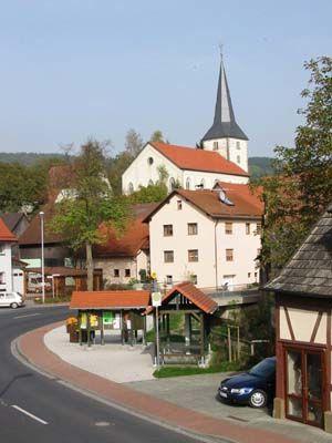 Dorfplatz Geroda
