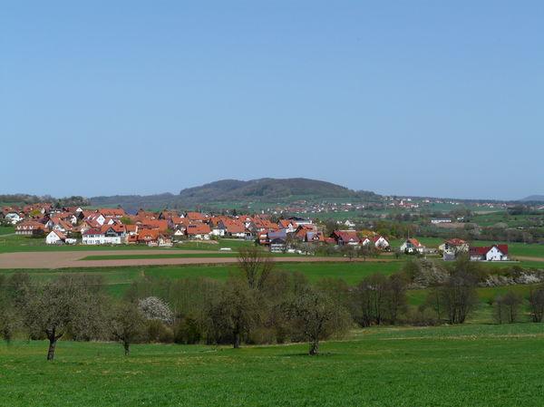 Oberleichtersbach Blick Breitenbach