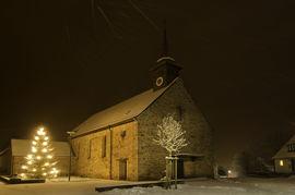 Kirche Schönderling Nacht